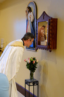St. Faustina relic installation mass